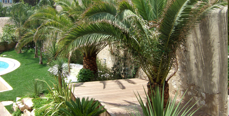 Contemporary garden on the hills marseille 13 landscape - Jardin contemporain design saint denis ...