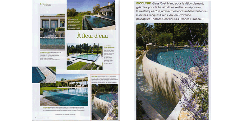 "Magazine ""Houses and Decor"" Landscape Architect Thomas Gentilini ..."