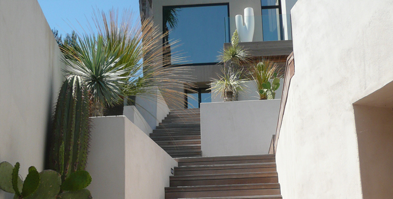 Residential garden Marseille 13