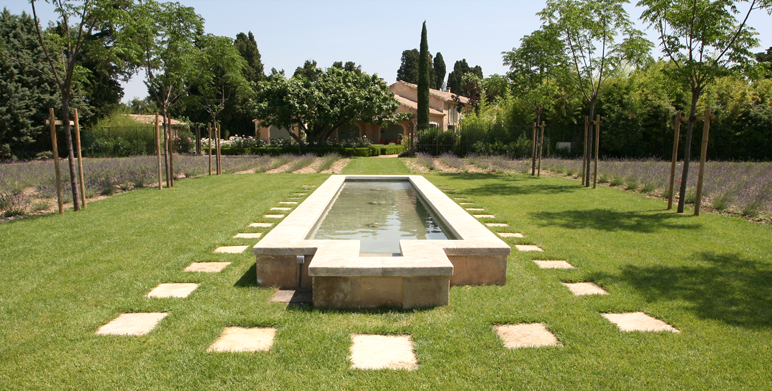 R alisations architecte paysagiste thomas gentilini for Creation jardin provencal