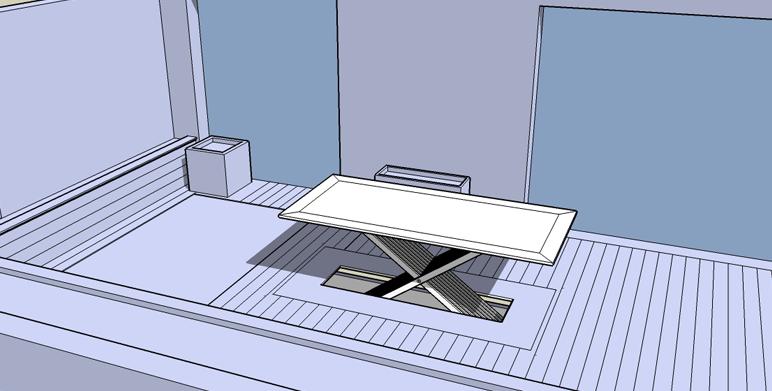 Table automatisée – Aix en Provence