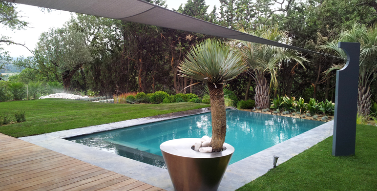 Piscine architecte paysagiste thomas gentilini for Creation deco jardin