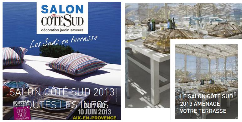 Le salon Côté Sud 2013 aménage votre terrasse
