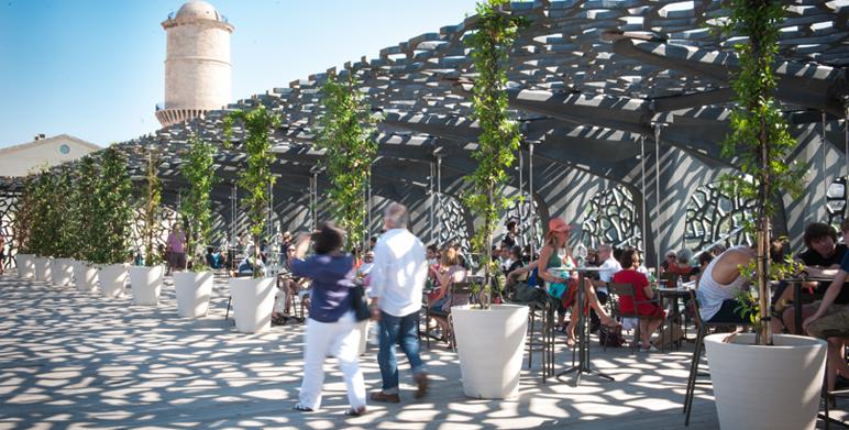 R alisations architecte paysagiste thomas gentilini - Restaurant le jardin marseille ...