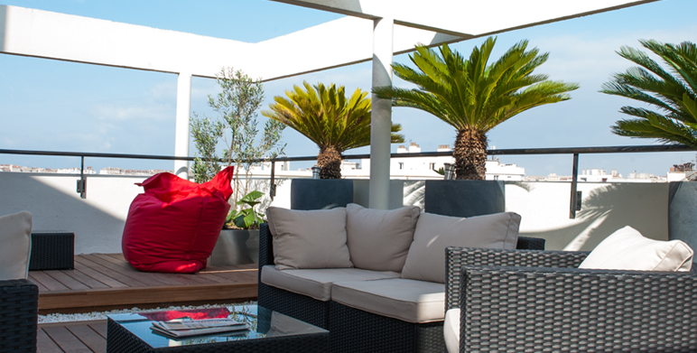 Terrasse marseille architecte paysagiste thomas for Jardin 1000m2