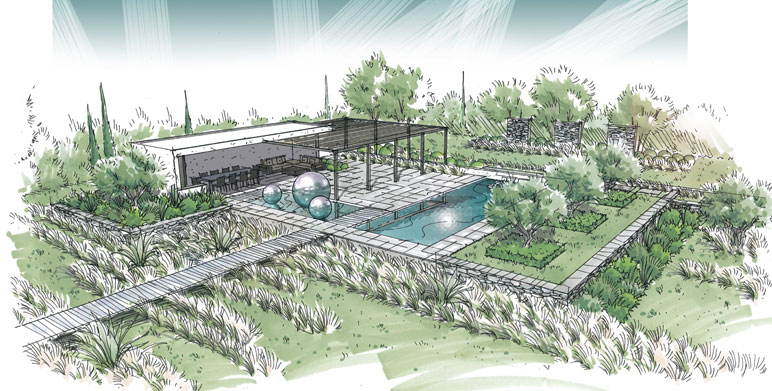 r alisations architecte paysagiste thomas gentilini cr ation et am nagement jardin. Black Bedroom Furniture Sets. Home Design Ideas