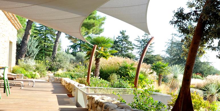 Jardin privé, Beaumont de Pertuis (84)