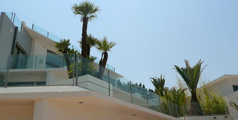 Jardin contemporain avec terrasses, Roucas Blanc – Marseille