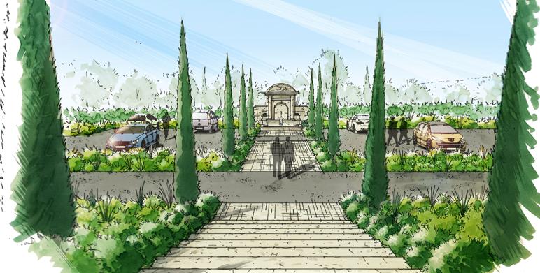 La Bosque d'Antonnelle – Jardin mediterranéen provençal, Aix en Provence