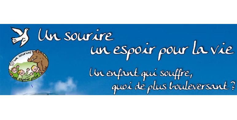 Association, Un Sourire un espoir pour la vie de Pascal Olmeta