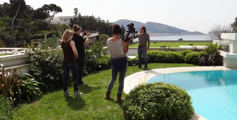 """Reportage pour """"Nature urbaine"""" sur Maison + (chaine de Canal +)"""