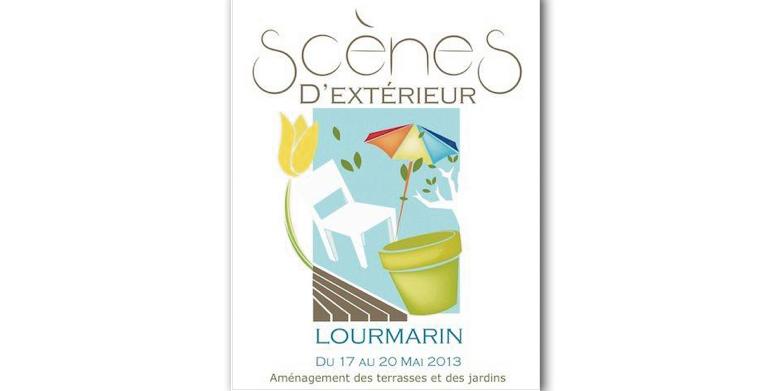 Scènes d'extérieurs, Aménagement des terrasses et des jardins à Lourmarin