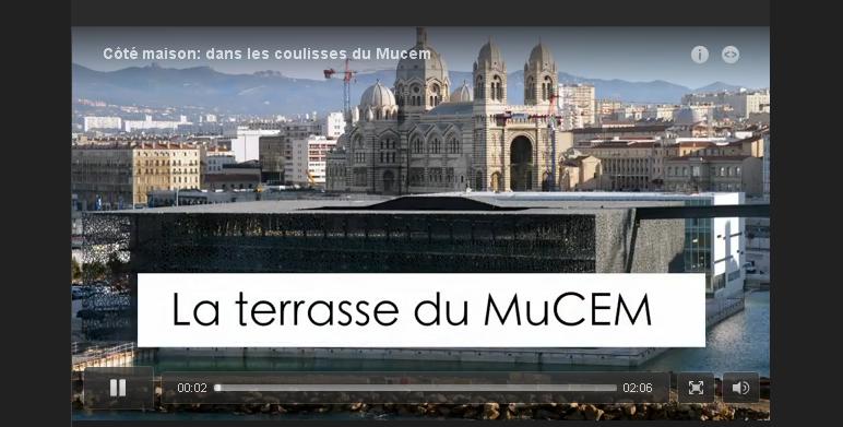 """Interview de Thomas Gentilini dans """"L'EXPRESS"""", Aménager la terrasse du MuCEM"""